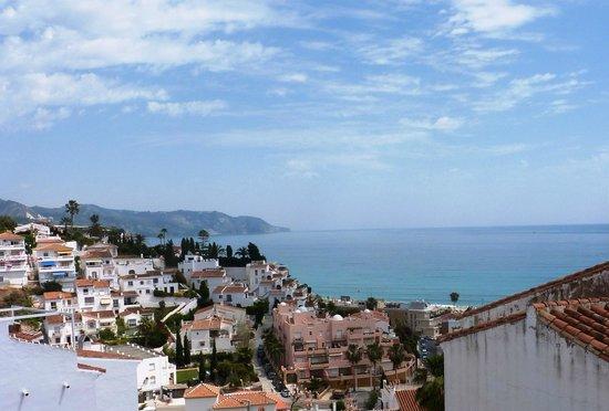 Estrella del Mar: View of Burriana beach from balcony of Rm 202