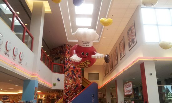 Jelly Belly Factory Tour: Candy Man