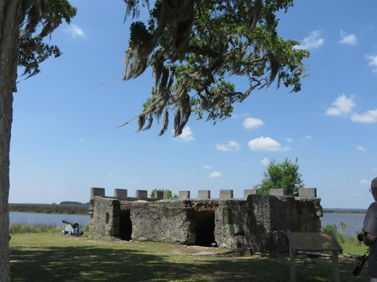 Fort Frederica National Monument : The Fort