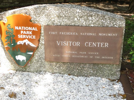 Fort Frederica National Monument : As you enter