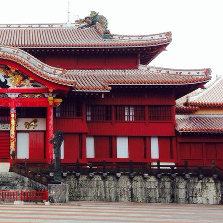 Shurijo Castle: Shuri Castle (R)