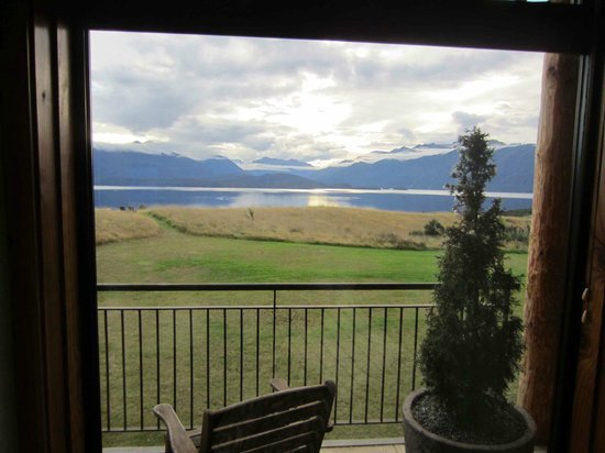Fiordland Lodge: Deluxe room view