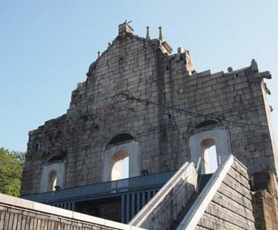 Ruins of St. Paul's: 外観