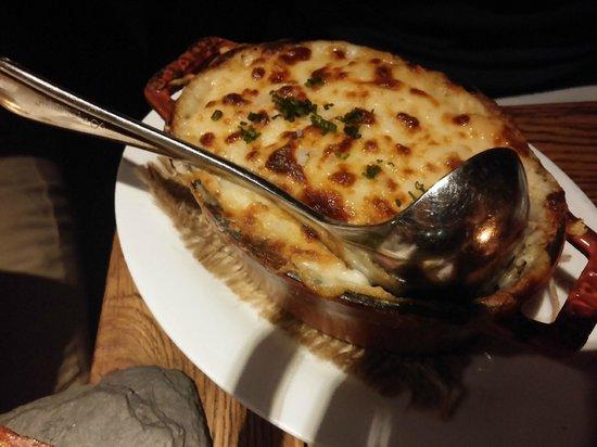 Cocotte: cauliflower gratin w bechemel