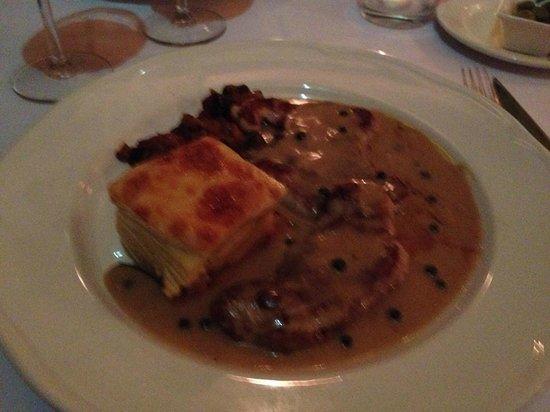 San Marco : Escalopines al Gorgonzola
