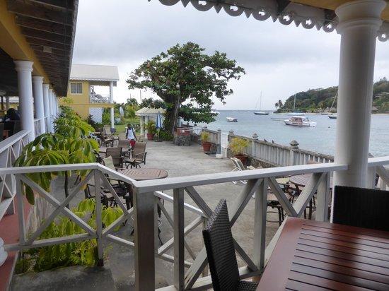 Paradise Beach Hotel: vista de la galeria