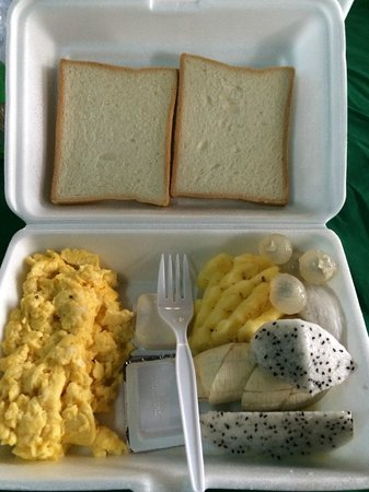 Villa Um Theara : Packed breakfast for morning tour