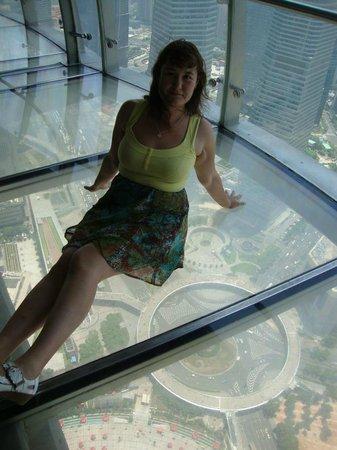 Oriental Pearl Tower (Dongfang Mingzhu): Я на вышине Жемчужины