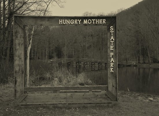 Hungry Mother State Park: picture frame