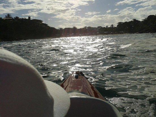 Ferradurinha Beach : En kayak