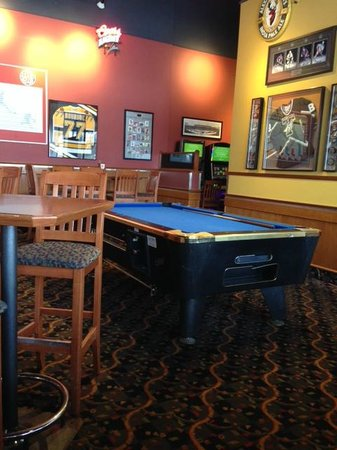 Pool Table In The Lounge At Boston Pizza | 2180 Saskatchewan Avenue W,  Portage La