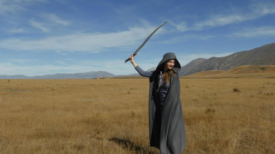 Lord of the Rings Twizel Tour: Twizel tour cosplay, Arwen