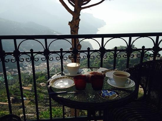 Auditorium Rooms: breakfast on the terrace