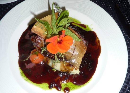 Bakus: Lambs liver on mash