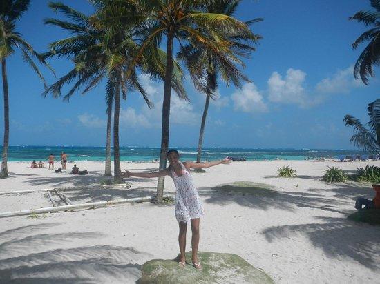 San Andres Noblehouse Hotel: Uma esquina do hotel você está na praia