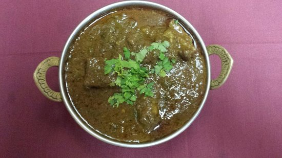 India Palace: Goat curry