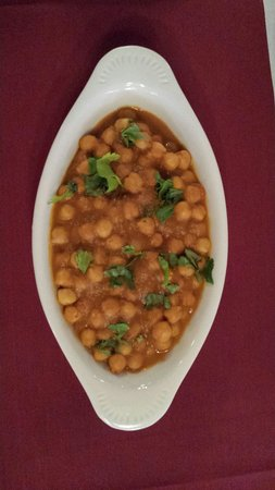 India Palace: Channa masala