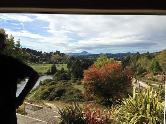 Forgotten World Adventures: view from the end of the river trip at Taumarunui Jet Boat HQ
