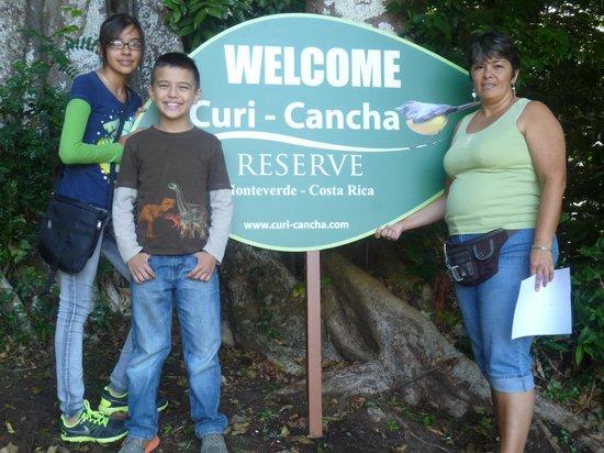Curi Cancha Reserve : disfrutando con mis hijos.