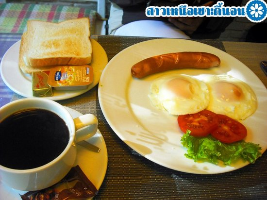 Suan Doi House Hotel & Resort: ชุดอาหารเช้า (135 บาท)