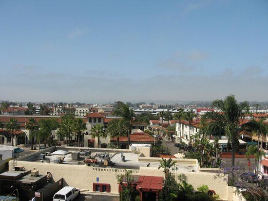 BEST WESTERN PLUS Hacienda Hotel Old Town : The view from room 415