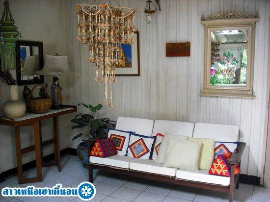 Suan Doi House Hotel & Resort: พื้นที่พักผ่อนนอกห้อง