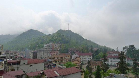Sapa Panorama Hotel: View from hotel room.