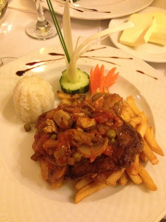 Szazeves Restaurant : tenderloin