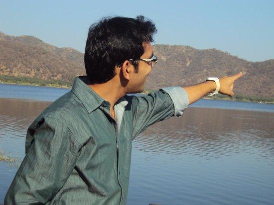 Jal Mahal: my elder son