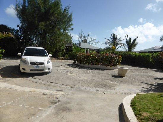 Ocean Spray Beach Apartments: park