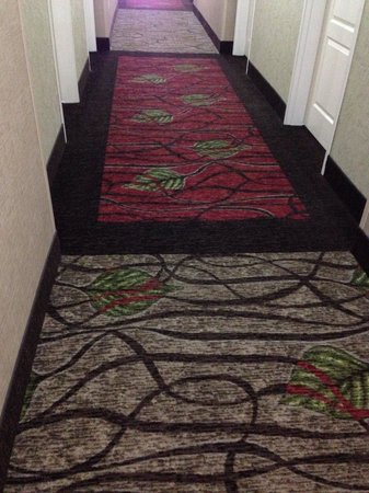 Best Western Plus Layton Park Hotel: Even the carpet is nice!
