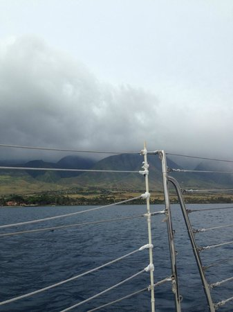 Scotch Mist Sailing Charters : Lahaina from the water