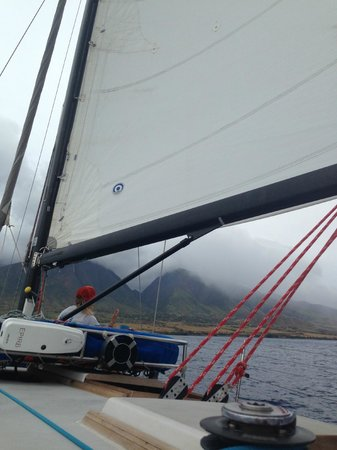Scotch Mist Sailing Charters : Sails on the Scotch Mist II