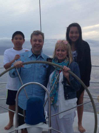 Scotch Mist Sailing Charters : Our family