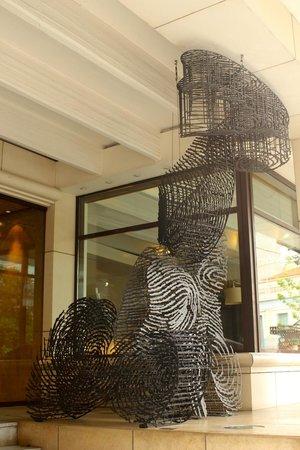 Herodion Hotel: Lobby entrance