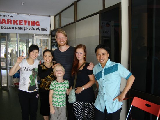 Anh Linh Hotel: The Anh Linh family and us
