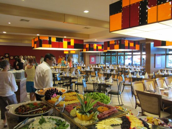 Mabu Thermas Grand Resort: Good food at their buffet