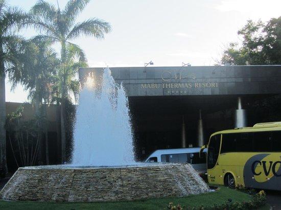 Mabu Thermas Grand Resort: Entrance of hotel