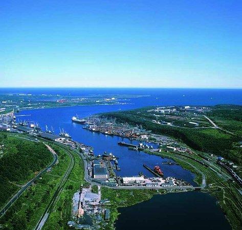 Vanino, Rusia: порт Ванино