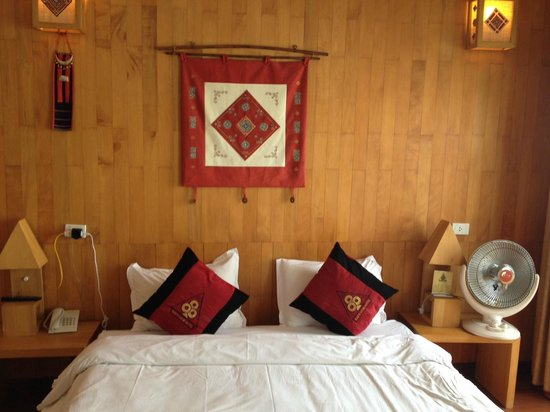 Sapa View Hotel : Our bed
