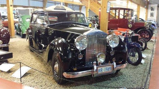 Parklane Motel : Vintage Jaguar at Auto Museum across the road from City Park