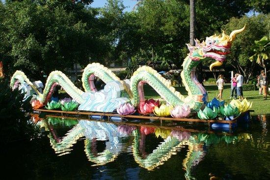 Buak Hard Public Park: Dragon