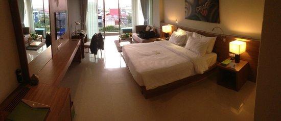 The Senses Resort & Pool Villas: My room was spacious!