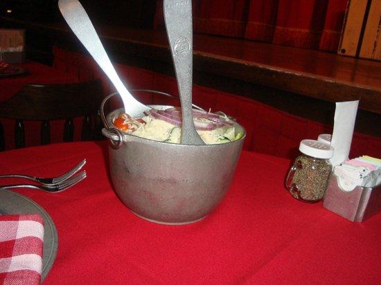 The Hoop-Dee-Doo Musical Revue: salad