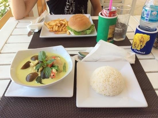 Hacienda Beach Resort: cucina thai ed internazionale
