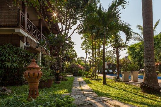 La Palmeraie d'Angkor: Garden