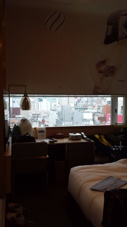 Shinjuku Granbell Hotel: our room