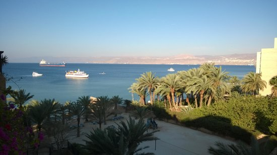 Movenpick Resort & Residences Aqaba: View from the balcony