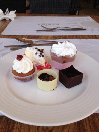 Olympic Lagoon Resort : Just 1 more dessert!!