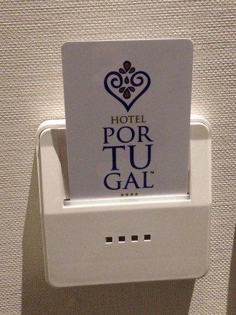 Hotel Portugal : Cartão eletrônico de acesso ao quarto